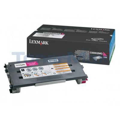 LEXMARK X500 X502 TONER CARTRIDGE MAGENTA 3K